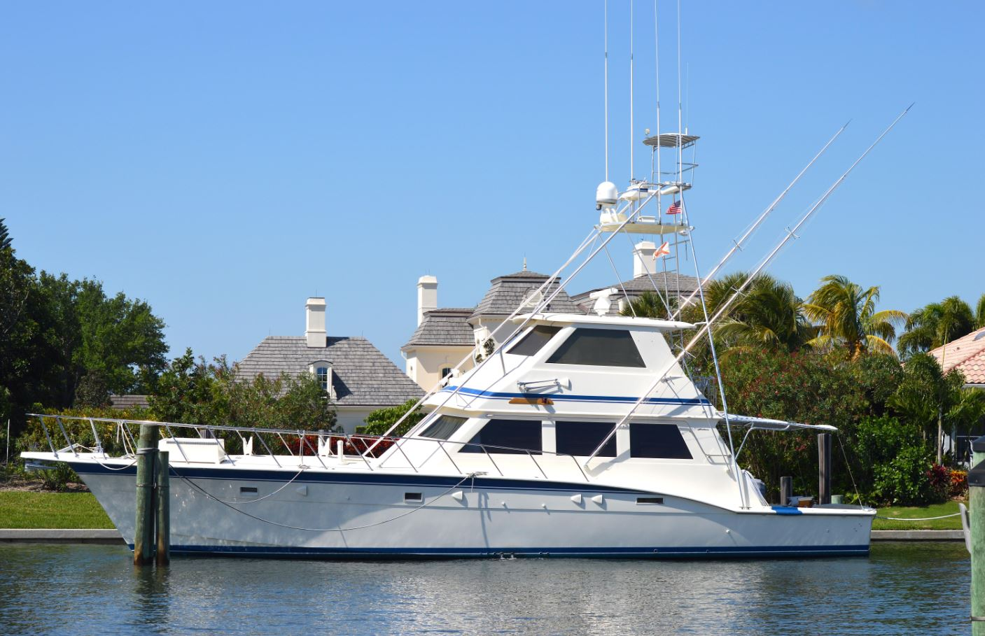 1985 Hatteras 60' Yacht for Sale