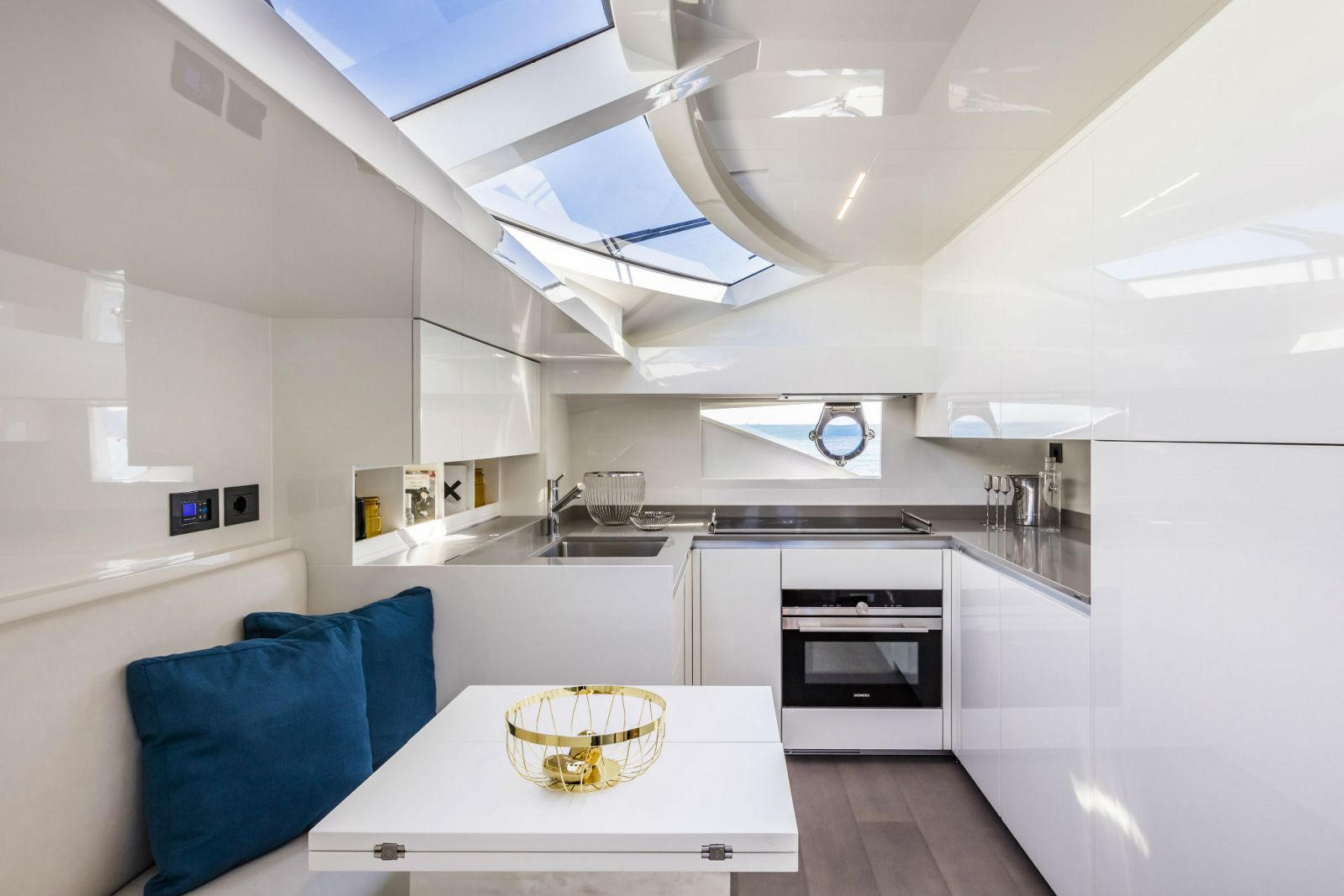 Ferretti Yachts 850 Galley - New Luxury Yacht for Sale >