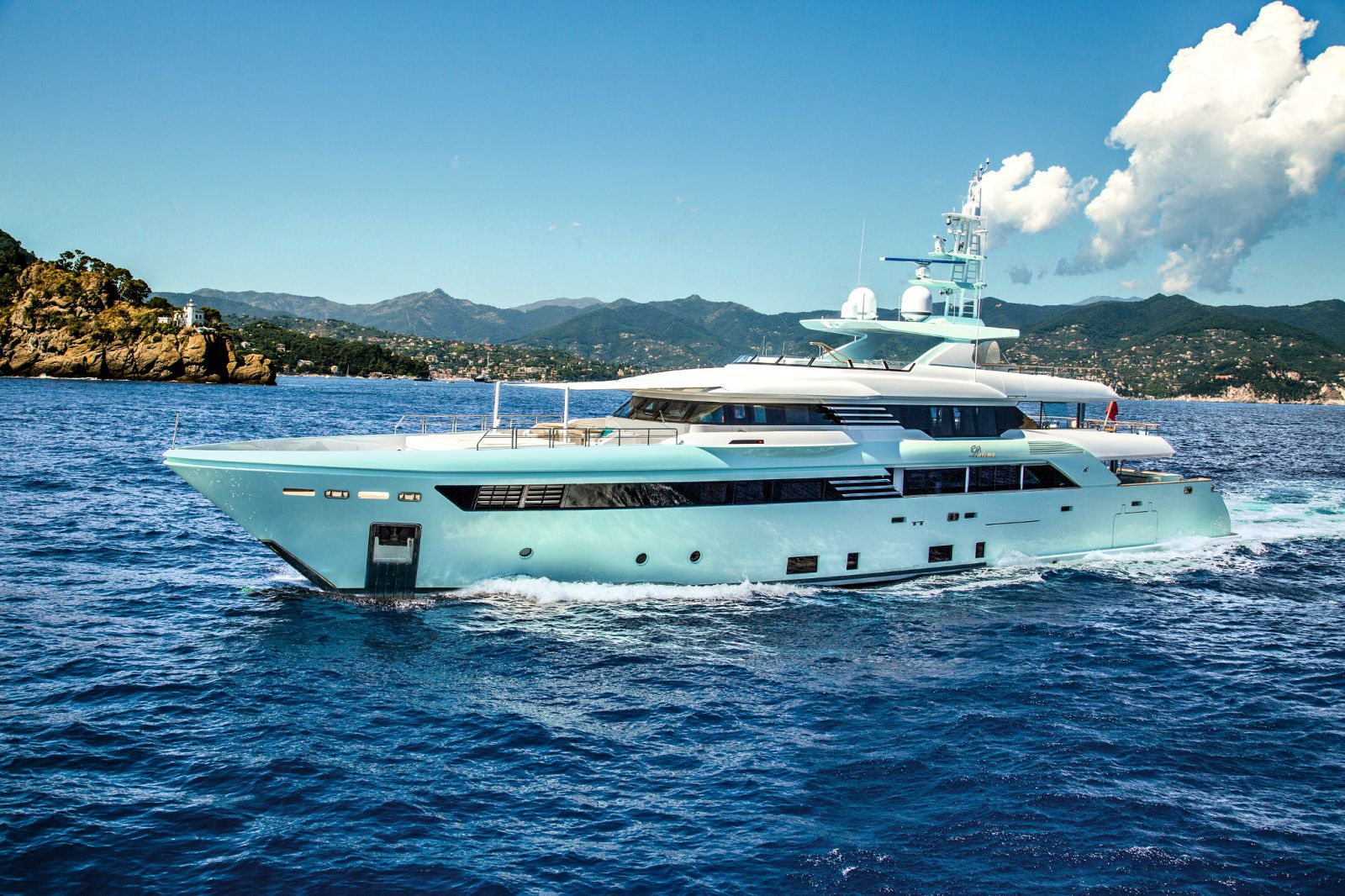 CRN M/Y Latona Exterior - New Yacht for Sale >