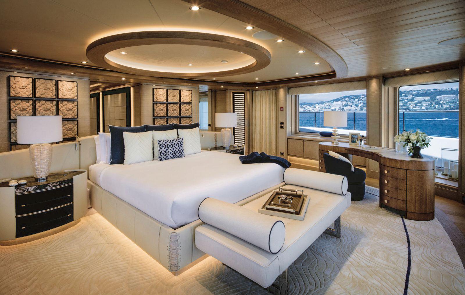 Master cabin bedroom. >