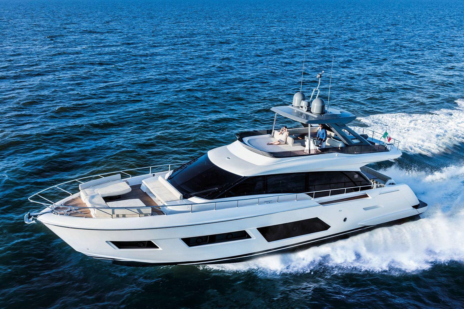 Ferretti Yachts 720 Layout - New Luxury Yacht for Sale >