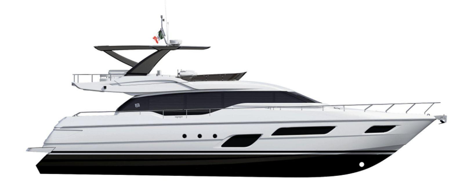 Ferretti Yachts 700 Layout - New Luxury Yacht for Sale >