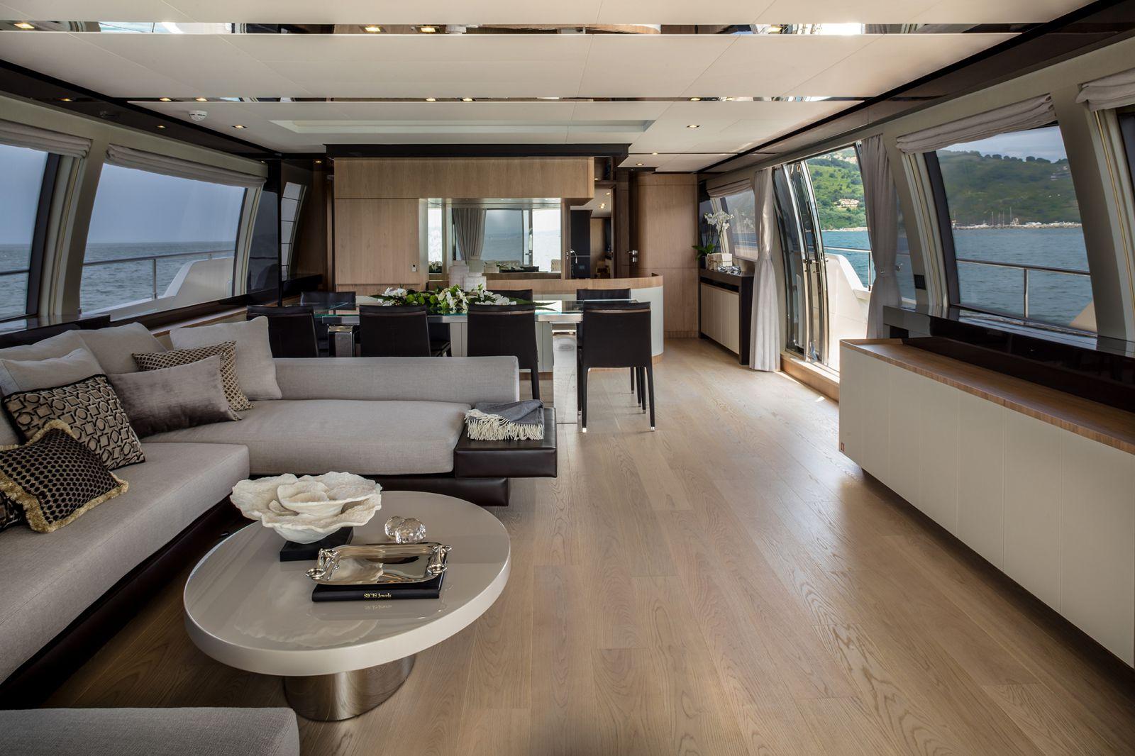 Ferretti Yachts 960 Cabin - New Luxury Superyach for Sale >