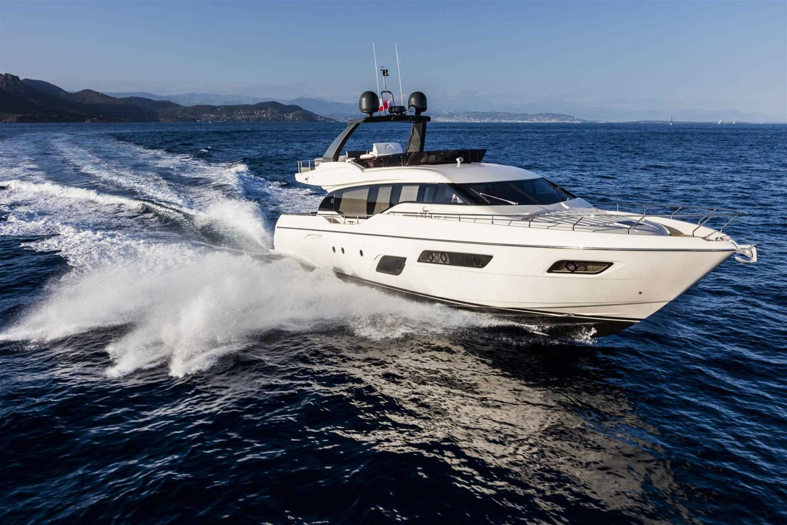 Ferretti Yachts 700 Exterior - New Luxury Yacht for Sale >