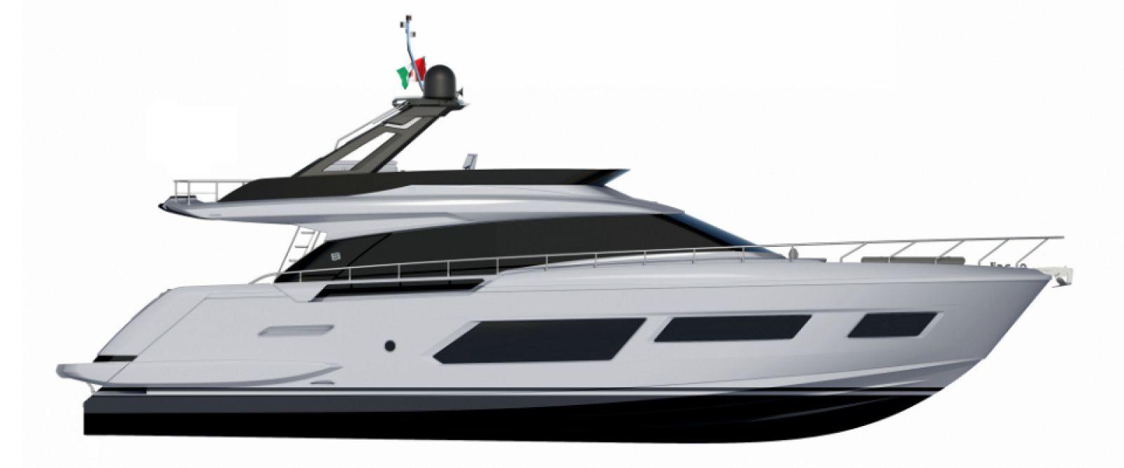 Ferretti Yachts 670 Layout - New Luxury Yacht for Sale >