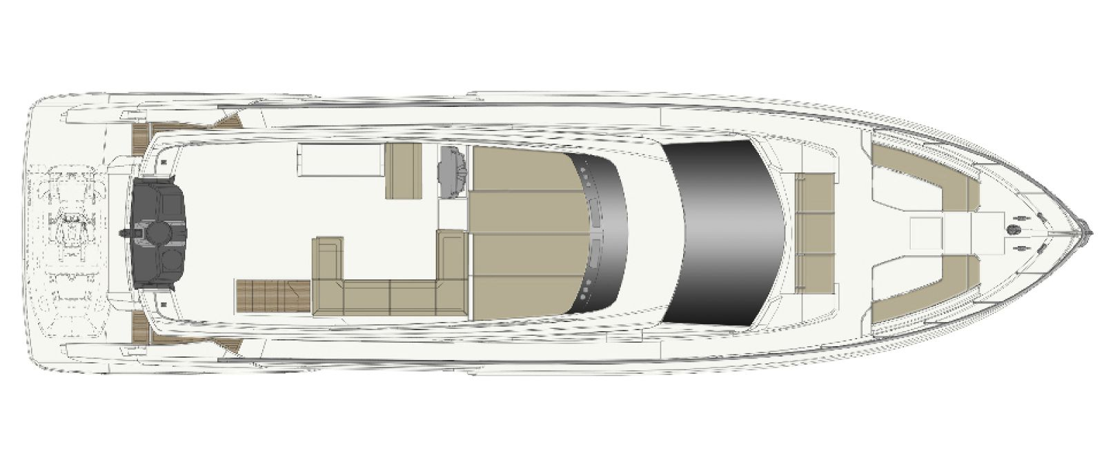 Ferretti Yachts 670 Layout - New Luxury Yacht for Sale >