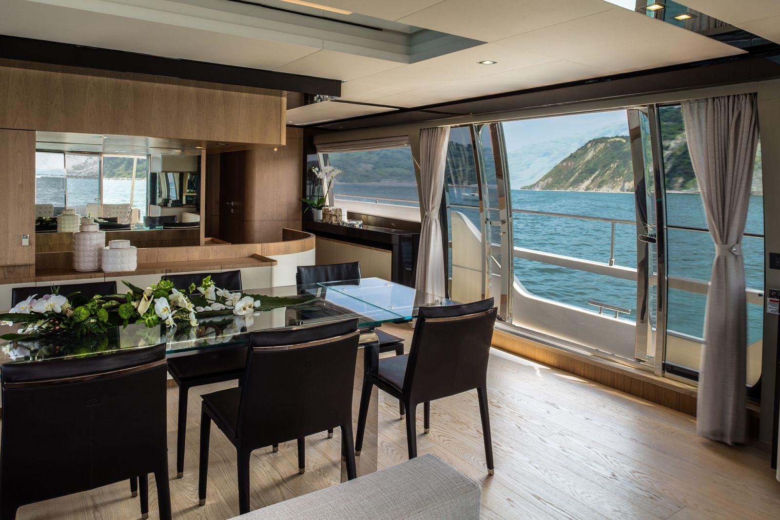 Ferretti Yachts 960 Salon - New Luxury Superyach for Sale >
