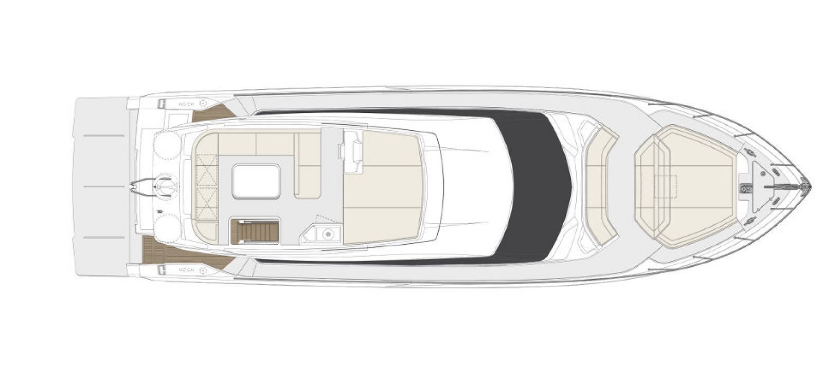 Ferretti Yachts 550 Layout - New Luxury Yacht for Sale >