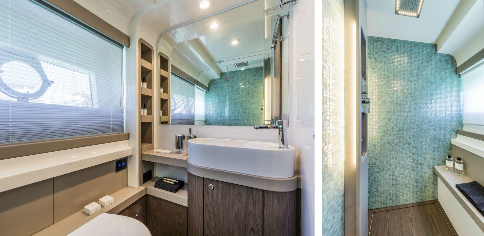 Ferretti Yachts 550 Head - New Luxury Yacht for Sale >