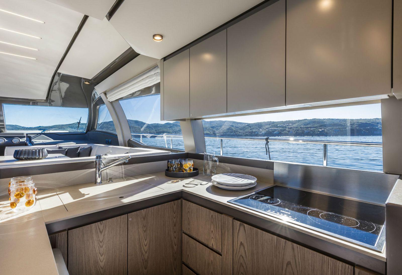 Ferretti Yachts 550 Galley - New Luxury Yacht for Sale >