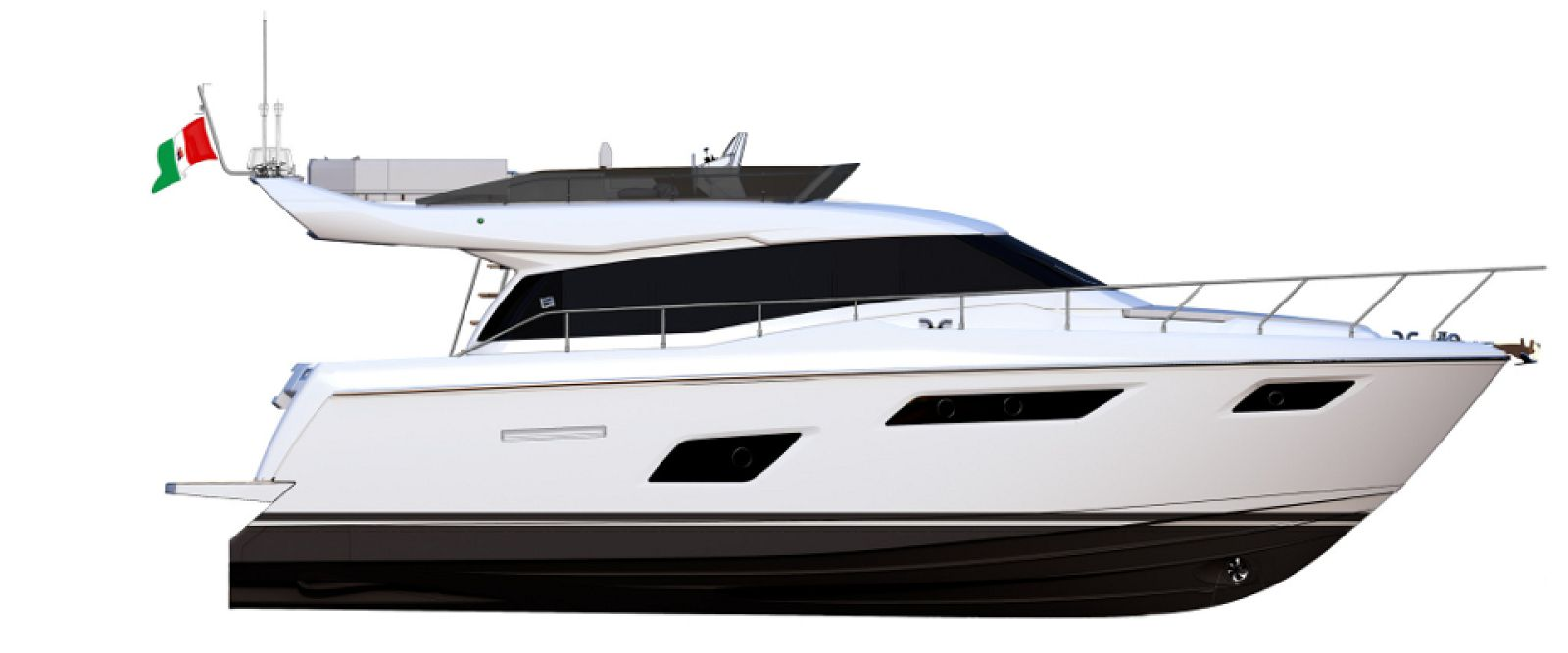 Ferretti Yachts 450 Layout - New Luxury Yacht for Sale >