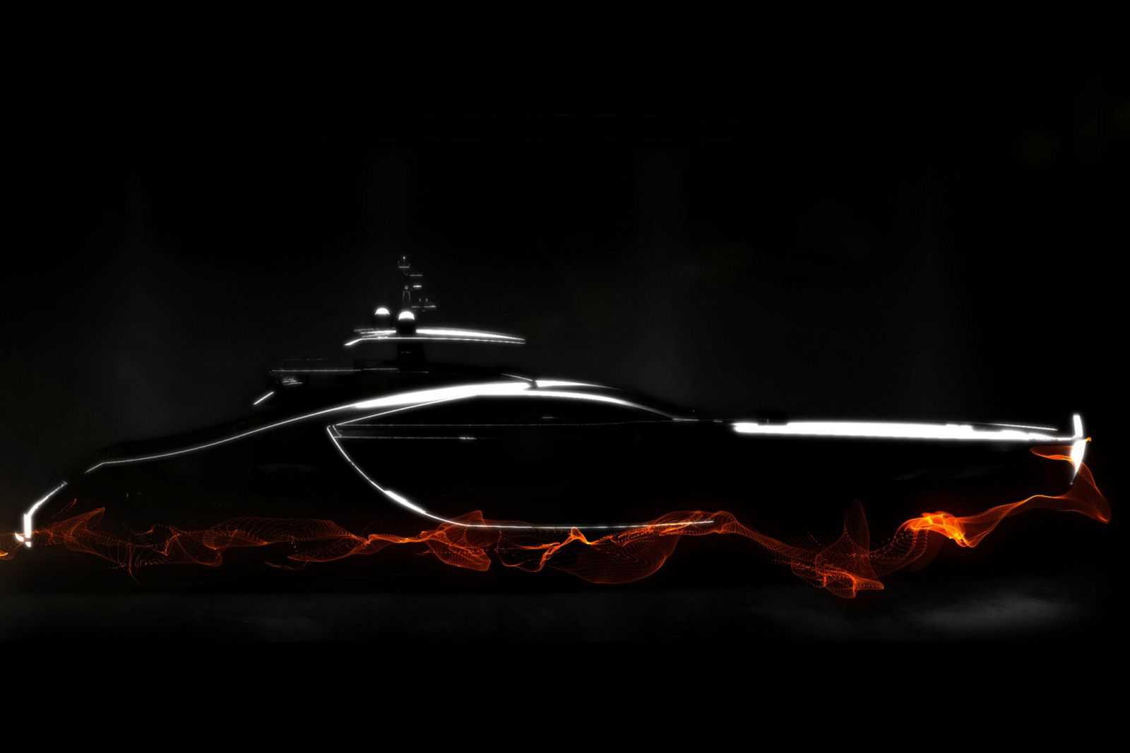 Pershing 170 Concept Art - New Luxury Yacht for Sale >
