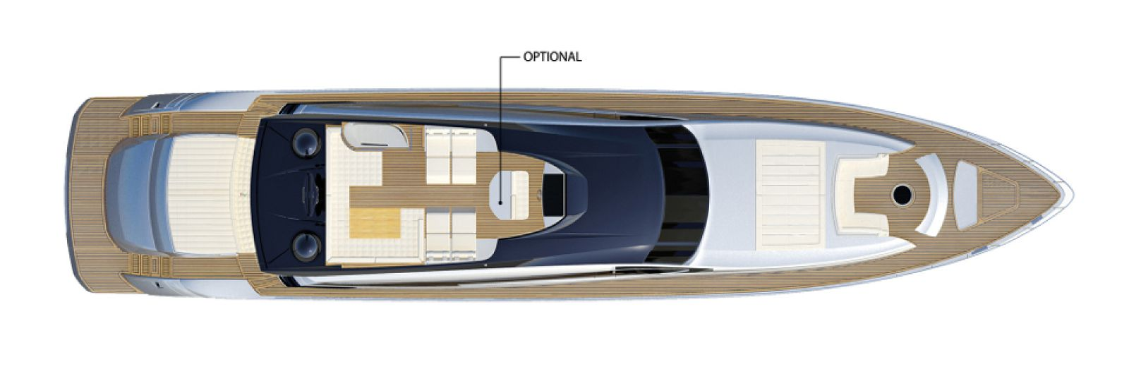 Pershing 108 Layout - New Luxury Yacht for Sale >