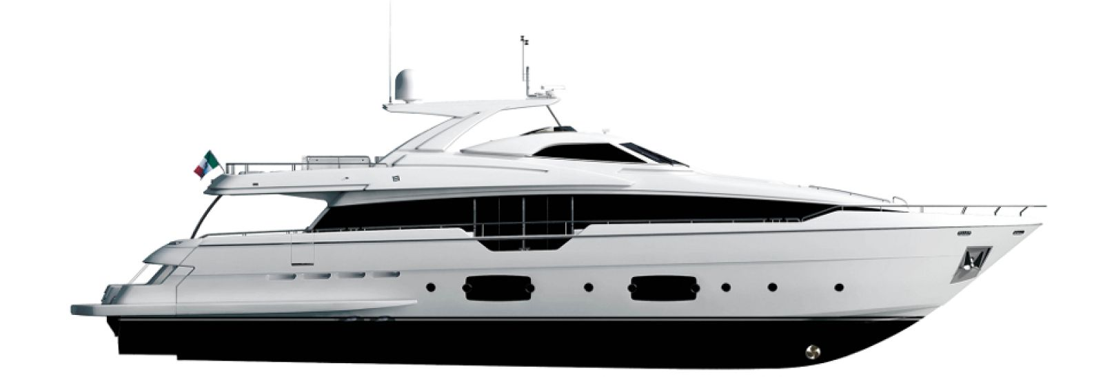 Ferretti Yachts 960 Layout - New Luxury Superyacht for Sale >