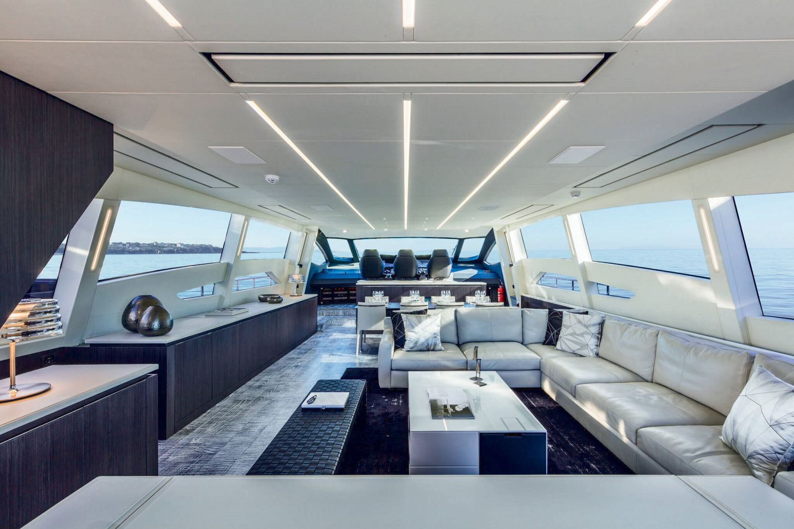 Pershing 108 Salon - New Luxury Yacht for Sale >
