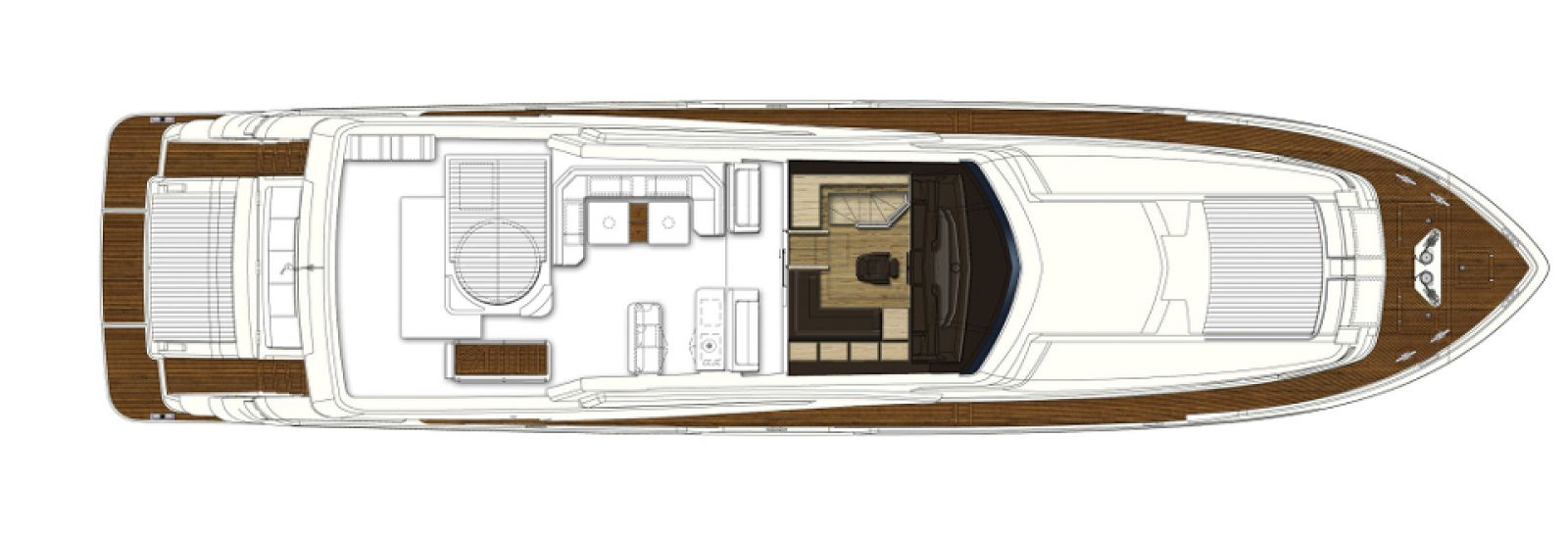 Ferretti Yachts 960 Interior - New Luxury Superyach for Sale >