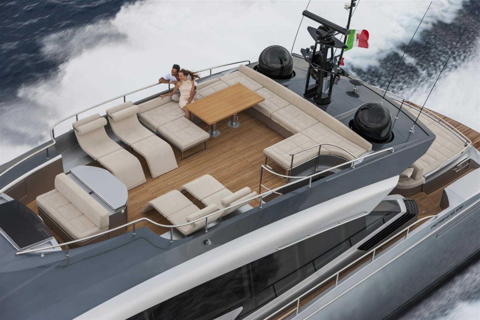Pershing 108 Flybridge - New Luxury Yacht for Sale >