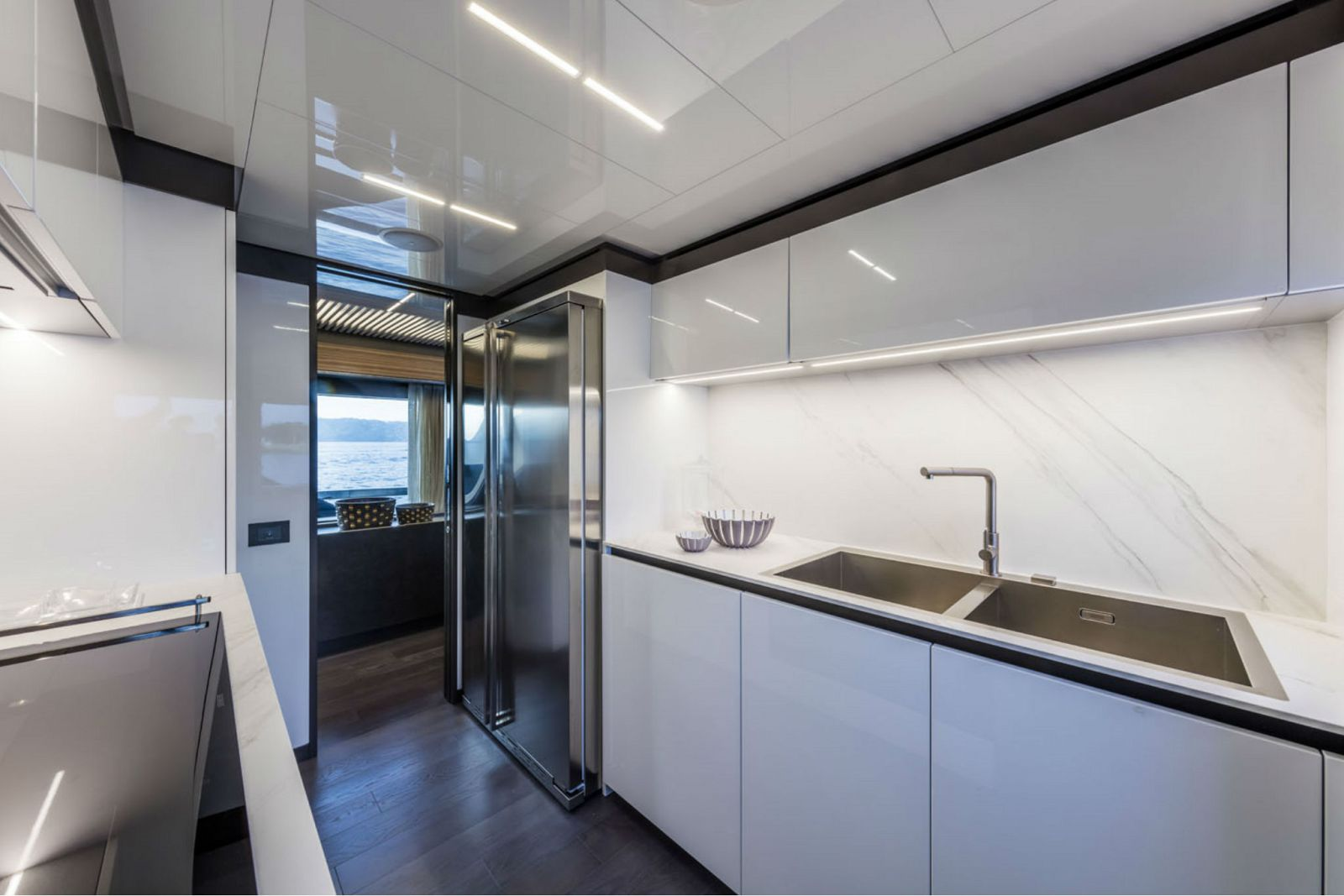 Ferretti Yachts 920 Galley - New Luxury Superyacht for Sale >
