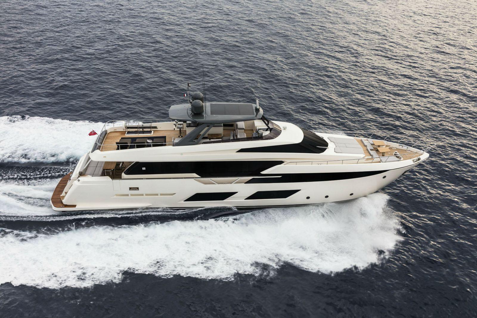 Ferretti 920 Superyacht Exterior Profile >