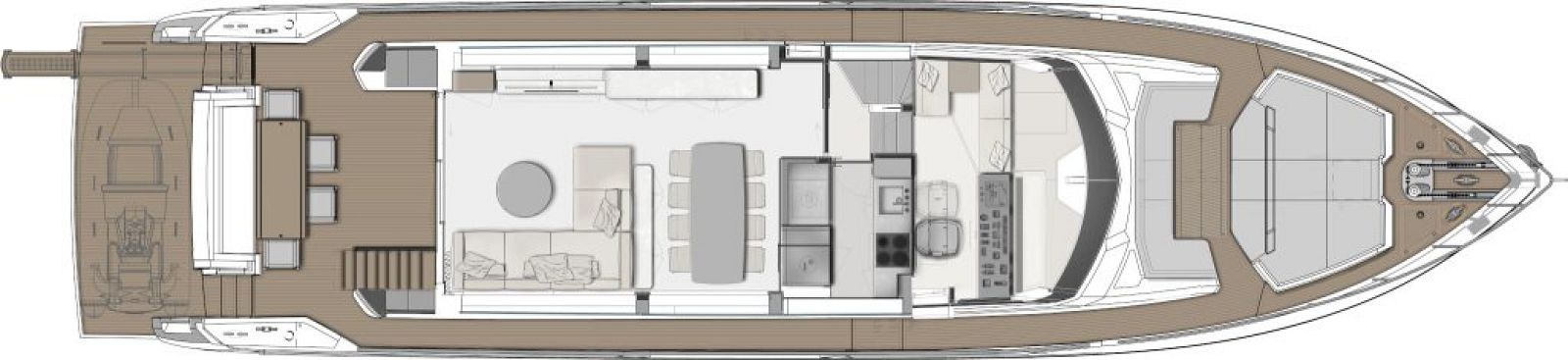 Ferretti Yachts 780 Layout - New Luxury Yacht for Sale >